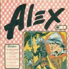 Cómics: ALEX DE EDITORIAL SIMBOLO COMPLETA 10 EJEMPLARES, CON DOS CON ALGUN DEFECTO. Lote 219696188