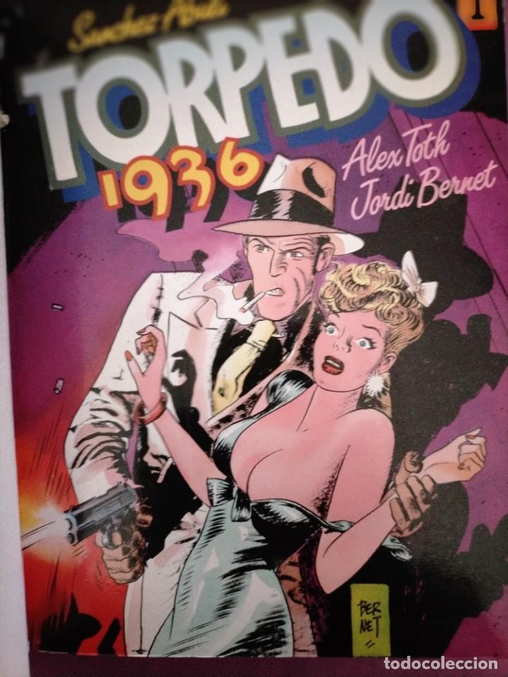 Cómics: TOMO TORPEDO 1936 TOUTAIN EDITOR N 2 CORTO MALTES EN SIBERIA LOS INOCENTES DEL ORO NUEVA FRONTERA - Foto 4 - 219728177