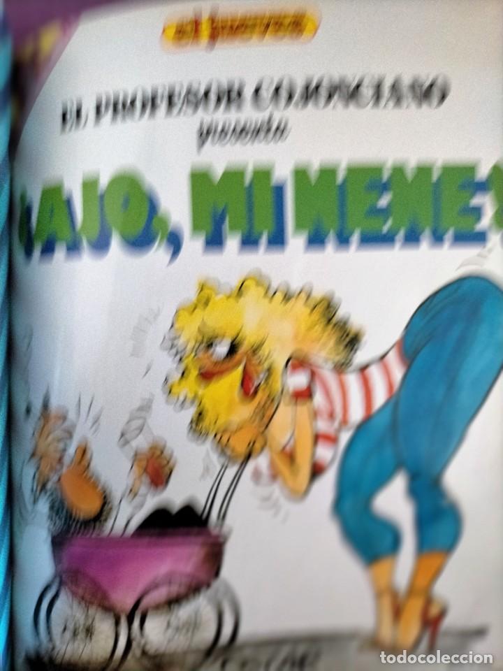 Cómics: ENCUADERNADO EL JUEVES COLECCION PENDONES DEL HUMO DIOS MIO EL PROFESOR COJONCIANO - Foto 2 - 219729141
