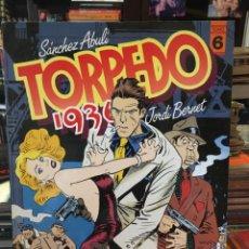 Cómics: TORPEDO 1936 - TOMO Nº 6 JORDI BERNET - SANCHEZ ABULI. TAPA BLANDA. Lote 219766277