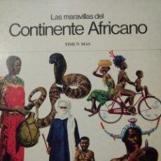 Cómics: LAS MARAVILLAS DEL CONTINENTE AFRICANO. FELIX SUTTON. TIMUN MAS 1976. Lote 219770401