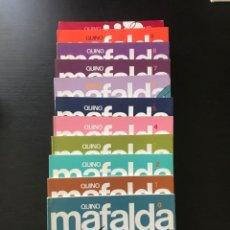 Cómics: COLECCION COMPLETA TEBEOS MAFALDA DEL Nº 0 AL 10. EDITORIAL LUMEN. AÑOS 80. QUINO. COMIC. Lote 219827536
