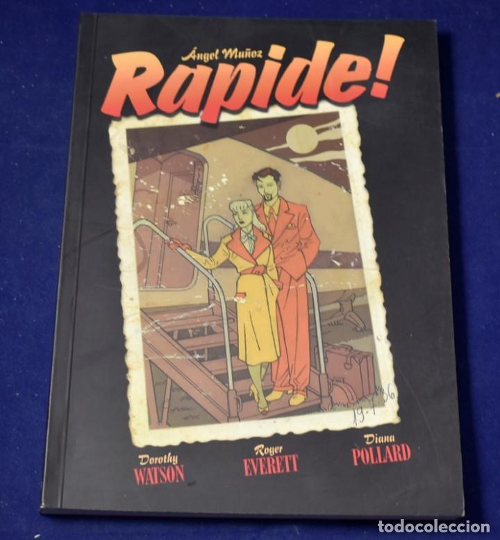 RAPIDE! (SOL Y SOMBRA) - MUÑOZ JIMÉNEZ, ÁNGEL (Tebeos y Comics - Comics otras Editoriales Actuales)