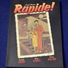 Cómics: RAPIDE! (SOL Y SOMBRA) - MUÑOZ JIMÉNEZ, ÁNGEL. Lote 219437345