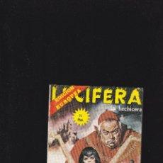 Comics: LUCIFERA - Nº 22 DE 38 - LA HECHICERA - 1976 - ELVIBERIA -. Lote 219909577