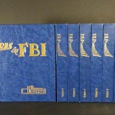 Fumetti: COLECCIÓN COMPLETA AVENTURAS DEL FBI 1 AL 252 EN 10 TOMOS EDICIONES BO EDICION LUJO 1990-1992.. Lote 219958460