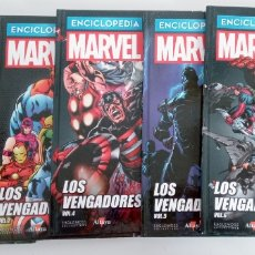 Cómics: LOS VENGADORES -THE AVENGERS- 6 TOMOS- ENCICLOPEDIA MARVEL -TOMOS DEL 1 AL 6 -MARVEL-ALTAYA. Lote 220081881