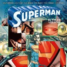 Cómics: SUPERMAN - EL FIN DE LOS DIAS - DC - ECC - TAPA DURA. Lote 220229797