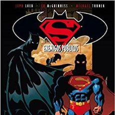 Cómics: BATMAN - SUPERMAN - ENEMIGOS PUBLICOS - DC - ECC - JOSEPH LOEB - TAPA DURA. Lote 220230258
