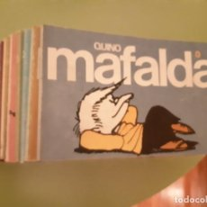 Comics: TIRAS COMPLETAS DE MAFALDA EN 11 VOLÚMENES. Lote 220292066