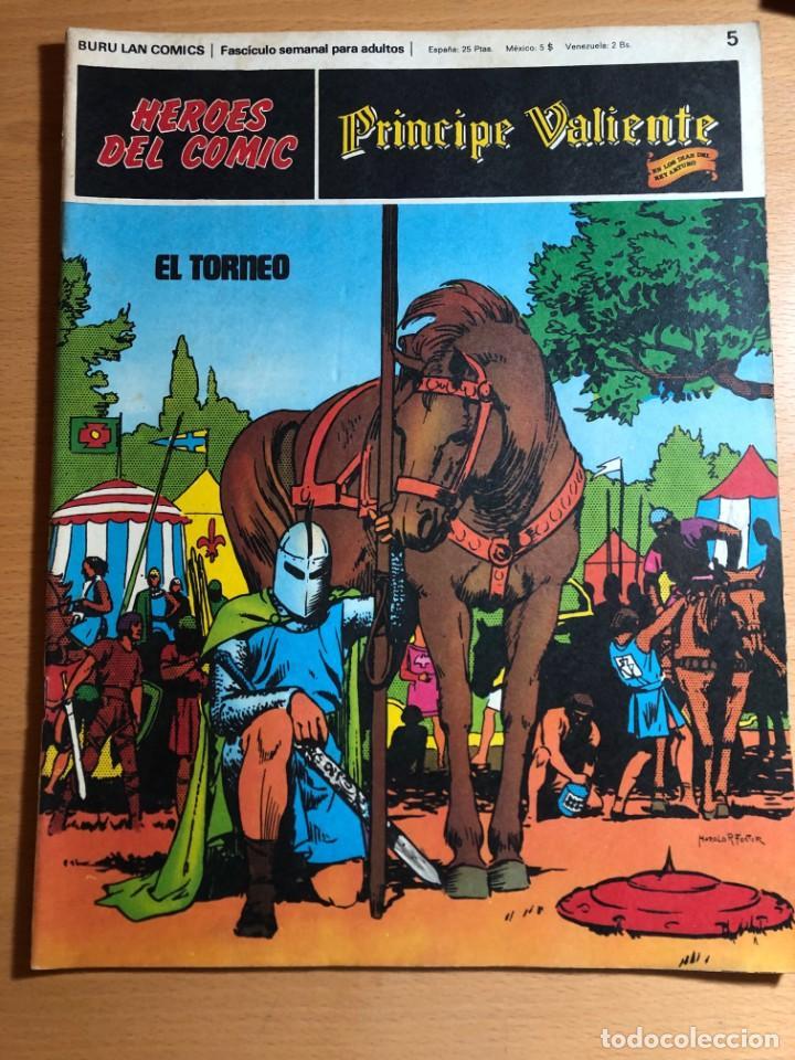 PRINCIPE CALIENTE. HAROLD FOSTER. BURU LAN, 12 PRIMEROS. FASCÍCULOS. TAMBIÉN SE VENDEN SUELTOS. (Tebeos y Comics - Buru-Lan - Principe Valiente)