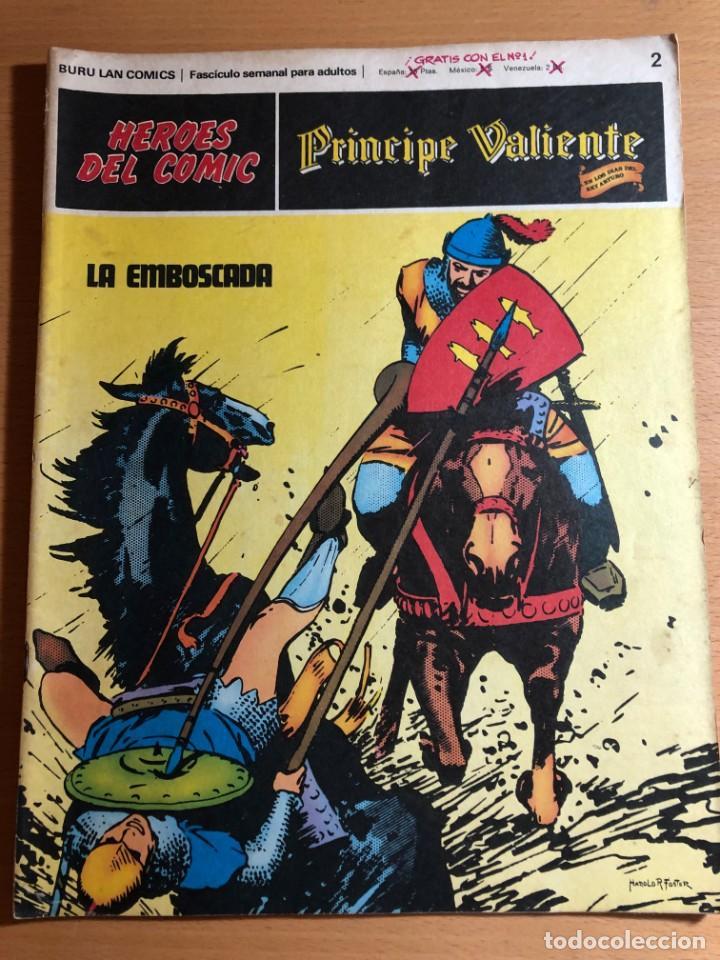 Cómics: Principe Caliente. Harold Foster. Buru Lan, 12 primeros. fascículos. También se venden sueltos. - Foto 2 - 220416246