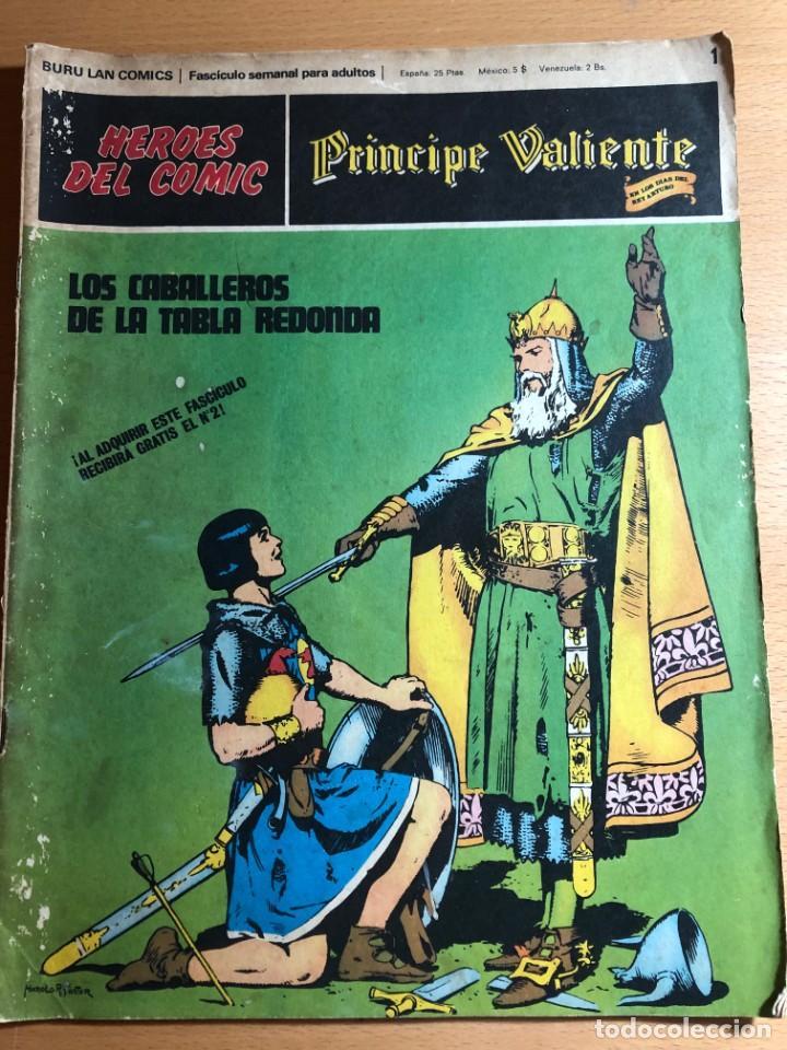 Cómics: Principe Caliente. Harold Foster. Buru Lan, 12 primeros. fascículos. También se venden sueltos. - Foto 3 - 220416246