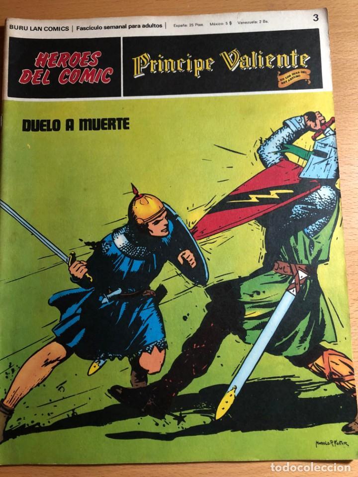 Cómics: Principe Caliente. Harold Foster. Buru Lan, 12 primeros. fascículos. También se venden sueltos. - Foto 4 - 220416246