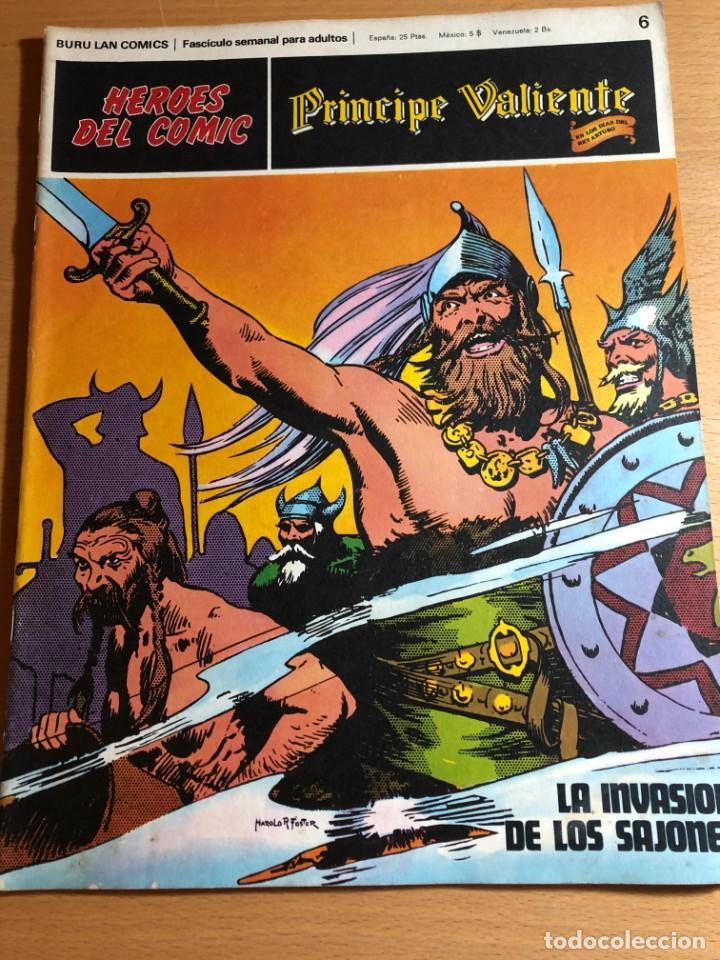 Cómics: Principe Caliente. Harold Foster. Buru Lan, 12 primeros. fascículos. También se venden sueltos. - Foto 5 - 220416246