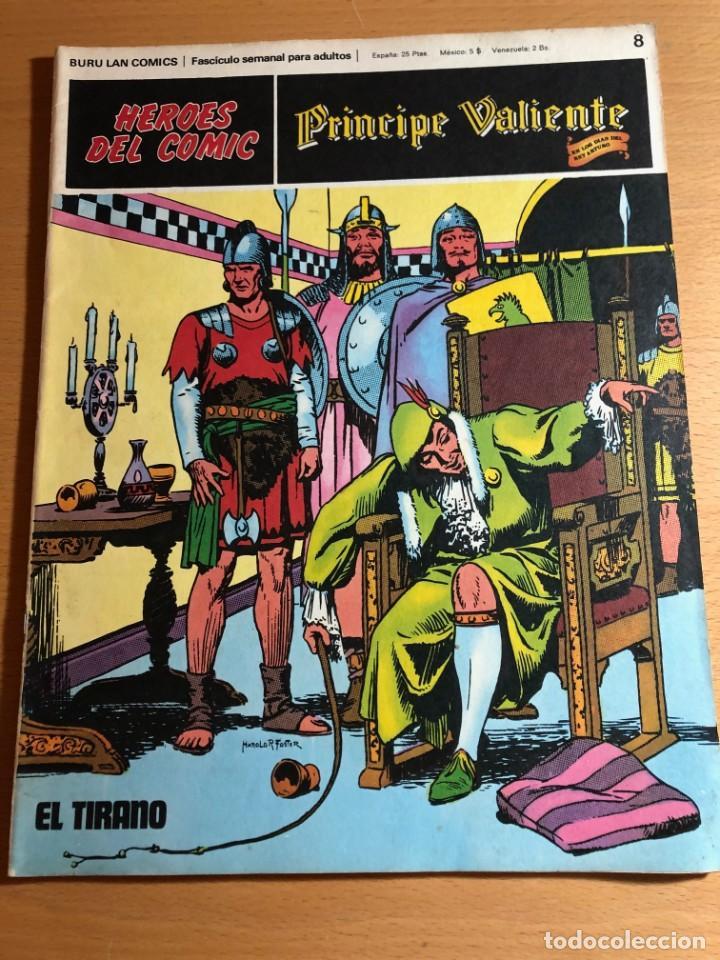 Cómics: Principe Caliente. Harold Foster. Buru Lan, 12 primeros. fascículos. También se venden sueltos. - Foto 10 - 220416246