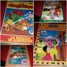 Comics : LOTE 10 COMICS DÉCADA DE LOS 70-80 ( HEIDI, D´ARTACAN ,LA ABEJA MAYA, JACKY, BANNER Y FLAPY ETC...). Lote 220501150