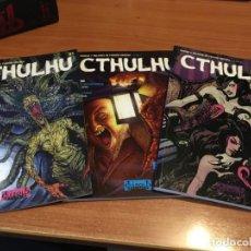 Fumetti: LOTE REVISTA CTHULHU TOMOS 1,2,Y 3. PERFECTO ESTADO. Lote 220511426