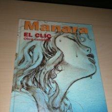 Cómics: MANARA - EL CLIC - OBRA COMPLETA. Lote 220564972