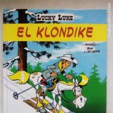 Cómics: LUCKY LUKE. EL KLONDIKE. MORRIS. YANN. JEAN LETURGIE. SALVAT. ESPAÑA 2000.. Lote 220599022
