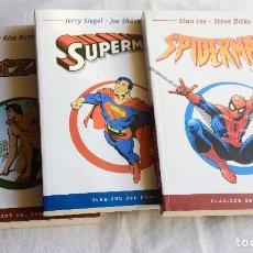 Cómics: CLASICOS DEL COMIC EL MUNDO - 3 VOL (TARZAN, SPIDERMAN Y SUPERMAN). Lote 220610952