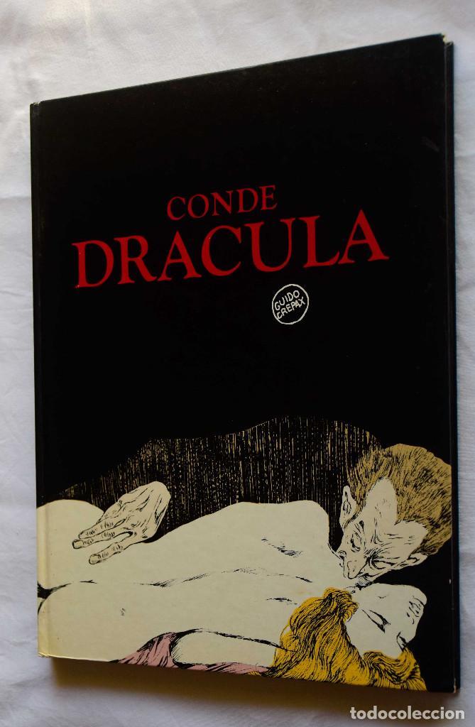 CONDE DRACULA - GUIDO CREPAX - ED LUMEN (Tebeos y Comics Pendientes de Clasificar)