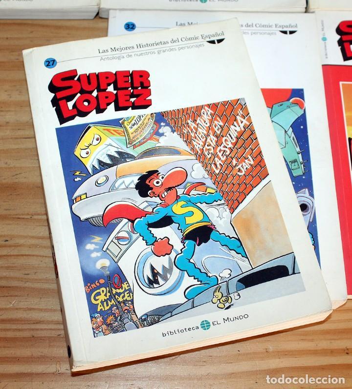 Cómics: SUPER LOPEZ - LOTE DE 9 COMICS - BIBLIOTECA EL MUNDO Y LO MEJOR DEL COMIC ESPAÑOL - Foto 4 - 220646860