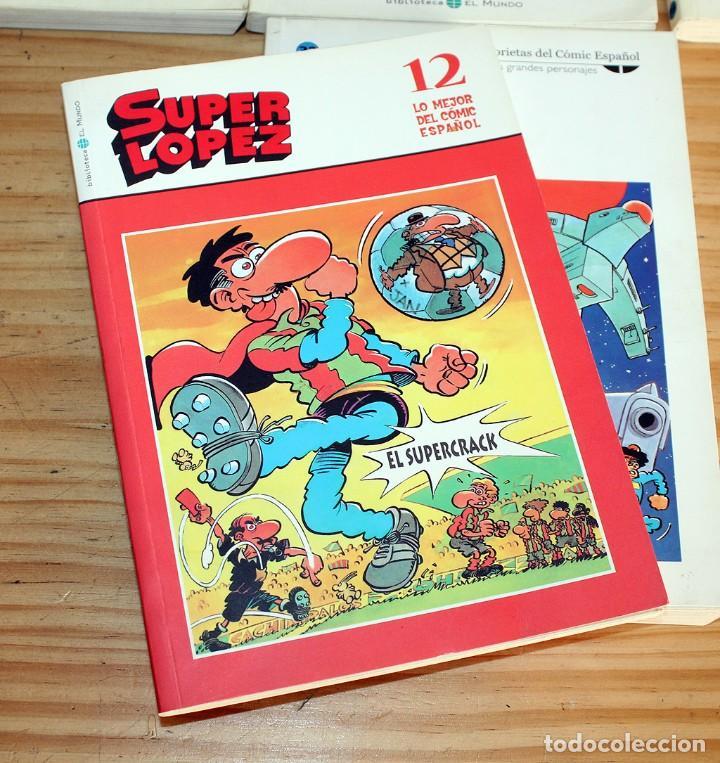 Cómics: SUPER LOPEZ - LOTE DE 9 COMICS - BIBLIOTECA EL MUNDO Y LO MEJOR DEL COMIC ESPAÑOL - Foto 5 - 220646860