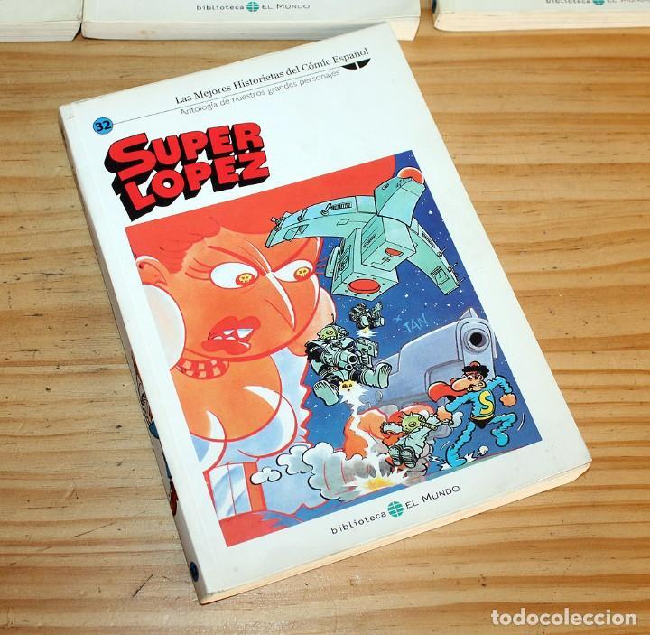 Cómics: SUPER LOPEZ - LOTE DE 9 COMICS - BIBLIOTECA EL MUNDO Y LO MEJOR DEL COMIC ESPAÑOL - Foto 6 - 220646860