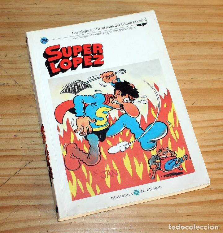 Cómics: SUPER LOPEZ - LOTE DE 9 COMICS - BIBLIOTECA EL MUNDO Y LO MEJOR DEL COMIC ESPAÑOL - Foto 7 - 220646860
