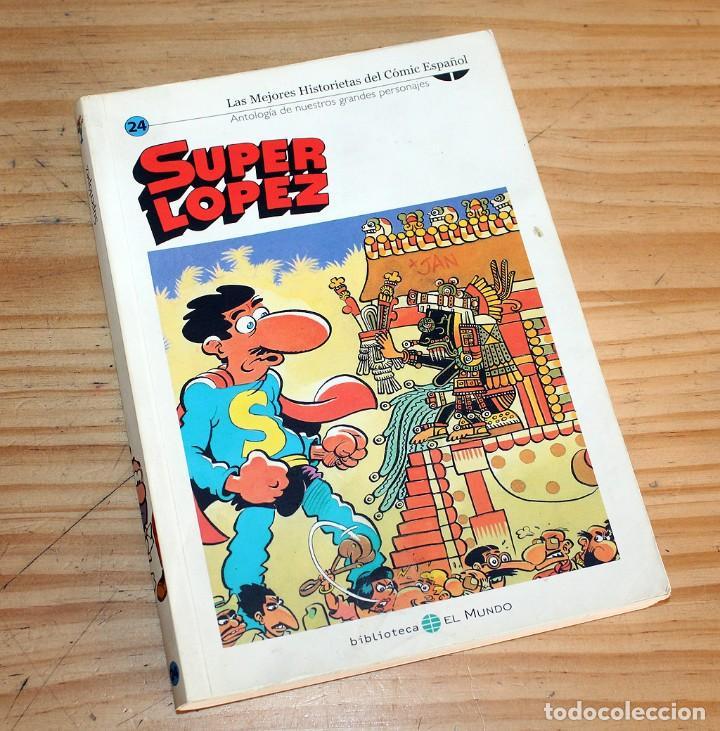 Cómics: SUPER LOPEZ - LOTE DE 9 COMICS - BIBLIOTECA EL MUNDO Y LO MEJOR DEL COMIC ESPAÑOL - Foto 8 - 220646860