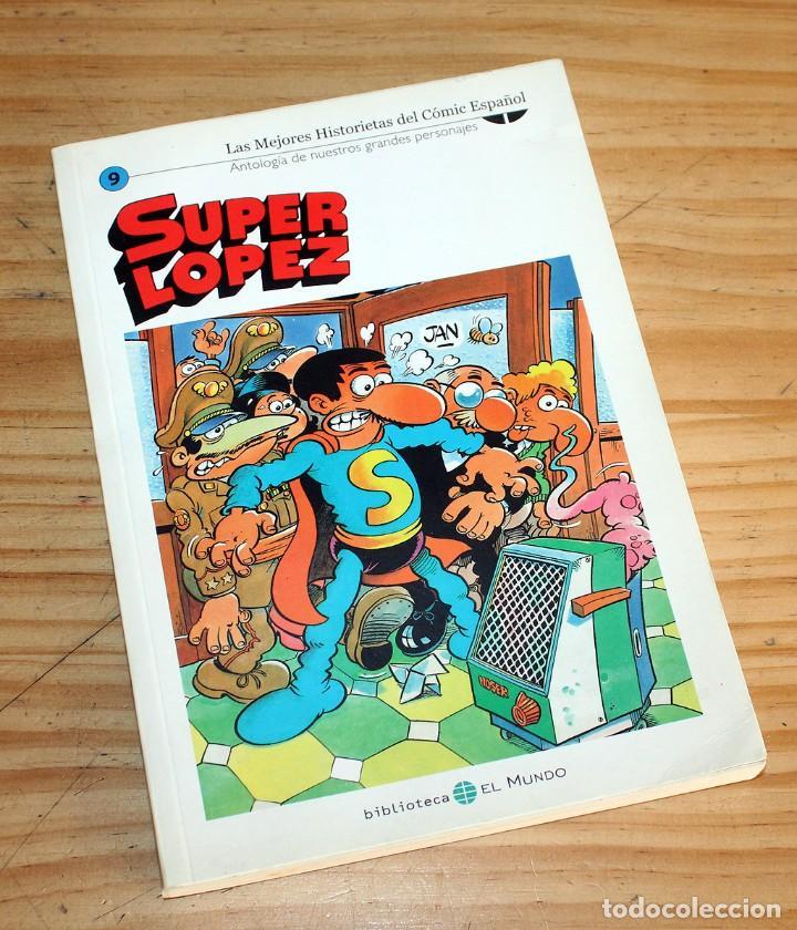 Cómics: SUPER LOPEZ - LOTE DE 9 COMICS - BIBLIOTECA EL MUNDO Y LO MEJOR DEL COMIC ESPAÑOL - Foto 9 - 220646860