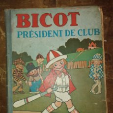 Cómics: BICOT, PRÉSIDENT DE CLUB, PYMY 55. Lote 220745056