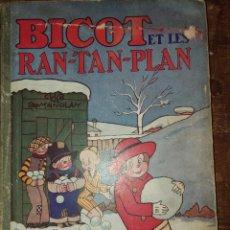Cómics: BICOT, RAN-TAN-PLAN, PYMY 55. Lote 220745228