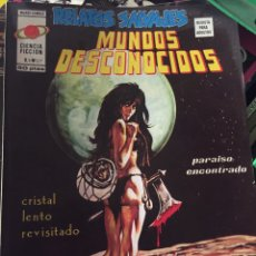 Comics: REVISTA COMIC RELATOS SALVAJES - MUNDOS DESCONOCIDOS. Lote 220835263