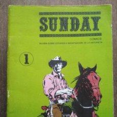 Cómics: LOTE SUNDAY + EL TONY. Lote 220837092