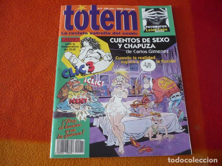 TOTEM Nº 2 ( MANARA GIMENEZ ) ¡BUEN ESTADO! LA REVISTA ESTRELLA DEL COMIC EL CLIC 1994 (Tebeos y Comics - Comics otras Editoriales Actuales)