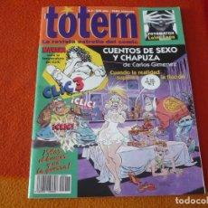 Cómics: TOTEM Nº 2 ( MANARA GIMENEZ ) ¡BUEN ESTADO! LA REVISTA ESTRELLA DEL COMIC EL CLIC 1994. Lote 220928930