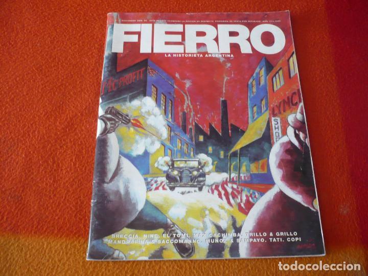 FIERRO Nº 1 LA HISTORIETA ARGENTINA ( BRECCIA TRILLO MUÑOZ SAMPAYO ) ¡BUEN ESTADO! (Tebeos y Comics - Comics otras Editoriales Actuales)