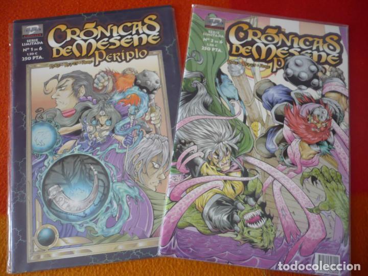 CRONICAS DE MESENE PERIPLO NºS 1 Y 2 ( ROKE REYES ) ¡BUEN ESTADO! DUDE (Tebeos y Comics - Comics otras Editoriales Actuales)