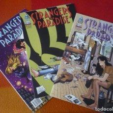 Cómics: STRANGERS IN PARADISE VOL. II LOVE ME TENDER NºS 1, 4 Y 5 ( TERRY MOORE ) ¡BUEN ESTADO! DUDE. Lote 221093627