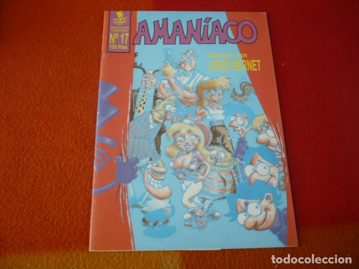 AMANIACO Nº 17 ( ENTREVISTA CON JORDI BERNET ) ¡BUEN ESTADO! (Tebeos y Comics - Comics otras Editoriales Actuales)