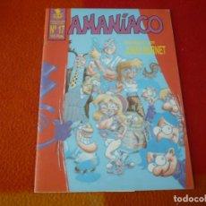 Cómics: AMANIACO Nº 17 ( ENTREVISTA CON JORDI BERNET ) ¡BUEN ESTADO!. Lote 221123665
