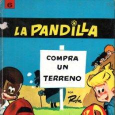 Cómics: ROBA : LA PANDILLA COMPRA UN TERRENO (JAIMES, 1969) TAPA DURA. Lote 221129983