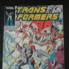 Cómics: TACO RECOPILATORIO TRANSFORMERS FORUM ED. 1989 - BUDIANSKY. Lote 221190282