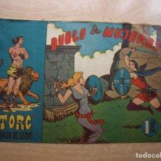 Cómics: TORG (HIJO DE LEON ) Nº 6 - ORIGINAL - EDITORIAL ANDALUZA - BUEN ESTADO. Lote 221250686