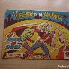 Cómics: EL TIGRE DE LA INDIA - Nº 12 - ORIGINAL - EDICIONES ACROPOLIS - BUEN ESTADO. Lote 221250971
