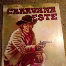 Cómics: COMIC CARAVANA DEL OESTE EN OBEDEZCA SHERIFF. Lote 221289235