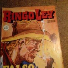 Cómics: COMIC DE RINGO LEY EN FALSO AMIGO Nº 36. Lote 221290372