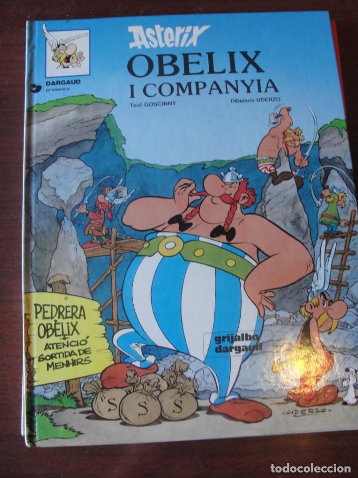 ASTERIX - OBELIX I COMPANYA / DARGAUD GRIJALBO 1993 - DE LLIBRERIA MAI LLEGIT - PORTS PAGATS (Tebeos y Comics Pendientes de Clasificar)